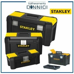 Stanley cassetta porta attrezzi valigia per utensili inserti minuterie vuota