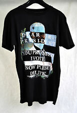 Marc By Marc Jacobs Black Dear Mr President SS T-Shirt S NWOT