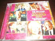 THE SECOND BEST EXOTIC MARIGOLD HOTEL  MOVIE SCORE CD  SEALED 28 TRACKS T NEWMAN