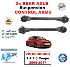 2x REAR AXLE LEFT + RIGHT CONTROL ARMS for VW SCIROCCO 1.4 2.0 Coupe 2008-2017