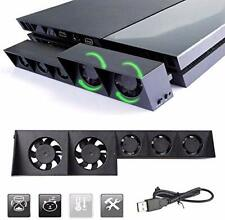 USB Temperature Control Cooling Fan w 3 Mode for Sony Playstation Gaming Console