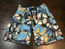 Quicksilver Hawaii Floral Board Shorts - Size 32