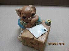"Pendelfin Rabbits ""Boswell"" Handpainted Stoneware Figurine Heavy Pieces"