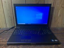 "DELL PRECISION M4700 15.6"" Gaming Laptop i7-3940XM 256GB SSD 28GB HD 7700M AMD"