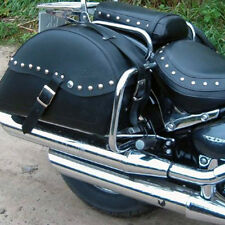 SUZUKI VL800 VOLUSIA INTRUDER HEAVY DUTY REAR SADDLEBAG CHROME GUARD CRASH BAR