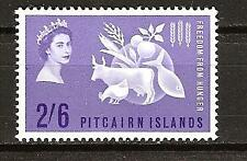 PITCAIRN ISLANDS # 35 Mint FREEDOM FROM HUNGER