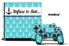 Designer Skin PS4 Playstation Sticker 4 Console + Controller Girl Decal HOL