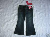 Here we have a nice pair of Girls GYMBOREE FULL OF HEART Denim FLARE JEANS 4 NWT
