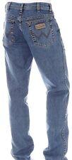 WRANGLER jeans Texas STONEWASH Stretch Tg.W33/L34 Denim Elasticizzato