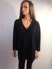 DKNY Black Cardigan Sweater Top, Size 2X