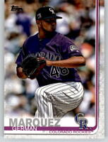 (15) 2019 Topps Series 2 15-Card Base Lot GERMAN MARQUEZ Rockies #602