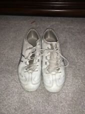 ASICS Flip N Fly white silver Cheer Shoes Q462Y WOMENS  size 7.5