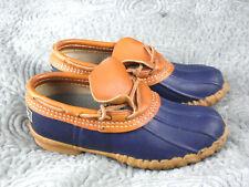 LL BEAN Womens size uk 4 Rubber  Moc Duck Rain Shoes Low Boots Waterproof US 6