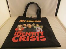 Jeff Dunham  2010 Identity Crisis Tote Bag with Tag ,  Never Used   ( 618JJ)