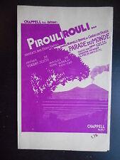 "Partition ""Piroulirouli"""