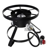 High Pressure Burner Outdoors Cooking Gas Single Propane Stove Camping Quemador