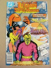 Tales of the Legion of Super Heroes #323 Canadian Newsstand $0.75 Price Variant