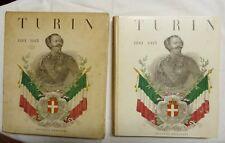 LIBRO TURIN 1860-1915 STORIA RISORGIMENTO BILINGUE ITALY HISTORY ENGLISH FRENCH