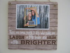 Handmade Personalised Photo Plaque Best Friend, Special Friend Gift Thank you
