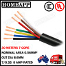 7 CORE 30M TRAILER CABLE WIRE BOAT TRUCK CARAVAN CAR WIRING LED LIGHT ROLL AU