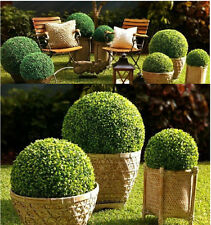 3X36CM ARTIFICIAL BOXWOOD TOPIARY FAUX BUXUS BALLS HOUSE HOME PARTY OFFICE DECOR