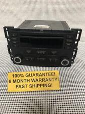 Chevy 2005 2006 Cobalt BLACK AM FM CD Car Radio 15272189 WARRANTY