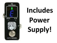 New Electro-Harmonix EHX-2020 Tuner Guitar Effects Pedal w/Power Supply