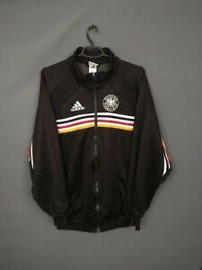 Germany Jacket Size LARGE Full Zip Mens Activewear Football Soccer Adidas ig93