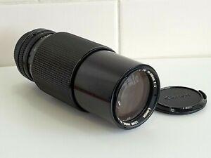 Canon FD 70-210mm 1:4 Zoom + Macro Lens - Japan