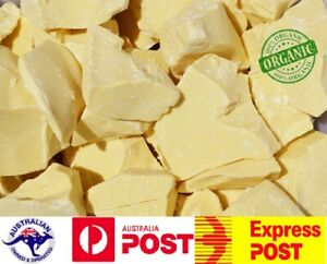 Organic Cocoa Butter 100% Pure Cacao Coco Peru (FREE BEESWAX SAMPLE 500g- 2kg)