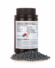 250g Iodine Crystals Resublimed +99.9%, pure quality product