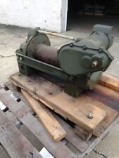 Garwood Winch 20,000 lbs Military with Gear Reduction Box Unused