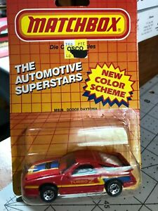 484 -Matchbox Die-Cast Metal-Auto Set of 4 1987,1994 New Free Shipping