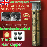 RESUXI  Electric Pro T-outliner Cordless Trimmer Wireless Portable Hair Clipper