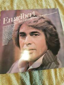 ENGLEBERT HUMPERDINK 16 GREATEST LOVE SONGS VINYL ALBUM RARE UK 1984 1ST PRESS
