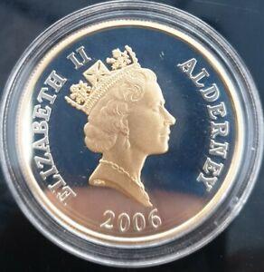 2006 Alderney Queen Elizabeth II 80th Birthday £5 Commemorative Coin