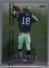 1998 Topps Finest #121 WITH PROTECTOR Peyton Manning Rookie RC HOFer HOT CARD!!