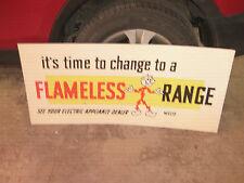 Ready Kilowatt Cardboard Flameless Range Sign