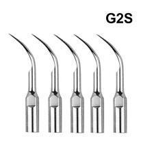 5X G2S Dental Ultrasonic Piezo Scaler Scaling Tips  Fit SATELEC NSK AA