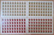 Bund BRD Bogen Satz postfrisch 1150 bis 1153 Mi. 250 Euro Full sheet MNH FN 1 +2