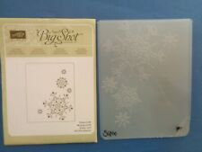 Stampin' Up Northern Flurry Embossing Folder; snowflakes