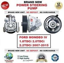 New POWER STEERING PUMP for FORD MONDEO Mk IV 1.8TDCi 2.0TDCi 2.2TDCi 2007-2015