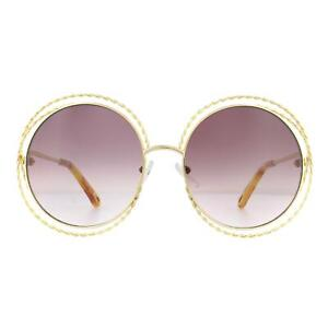 Chloe Sunglasses CE114ST 872 Gold Aubergine Gradient
