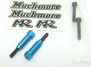 Muchmore Brushed Motor Endbell Fan Mounting Posts Type 1/ Blue - MF-MAB