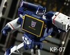 KP-07 Posable Hands Set For Transformers Masterpiece MP-13 Soundwave | Kfc Keith For Sale
