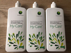 hy-care contact lens solution 3x 250ml