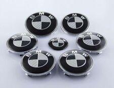 Emblemas BMW x7, efecto carbono, Capo, Maletero, Llantas, Volante, insignia BMW