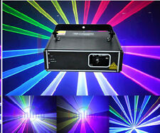 1W RGB DMX Full Color Laser - 1 Watt Auto Sound Program DJ Stage Effect 1000 mW