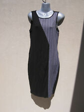 Metalicus black/grey tunic dress BNW0T-free post-one size
