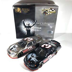 DALE EARNHARDT 2003 Monte Carlo #3 Foundation 2 CAR SET 1:24 NASCAR 1/55,000 A1